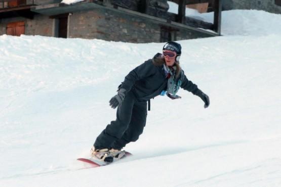 Ludmilla Radchenko snowboarder a Courmayeur02