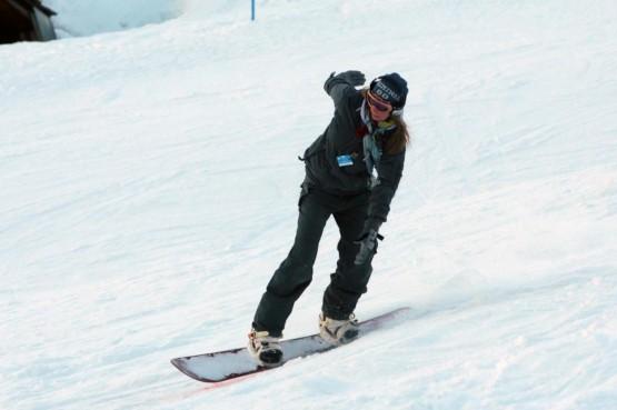 Ludmilla Radchenko snowboarder a Courmayeur03