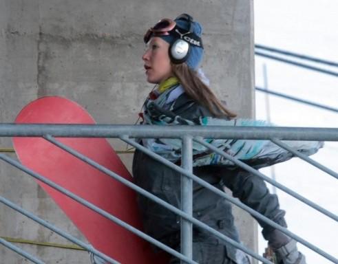 Ludmilla Radchenko snowboarder a Courmayeur06