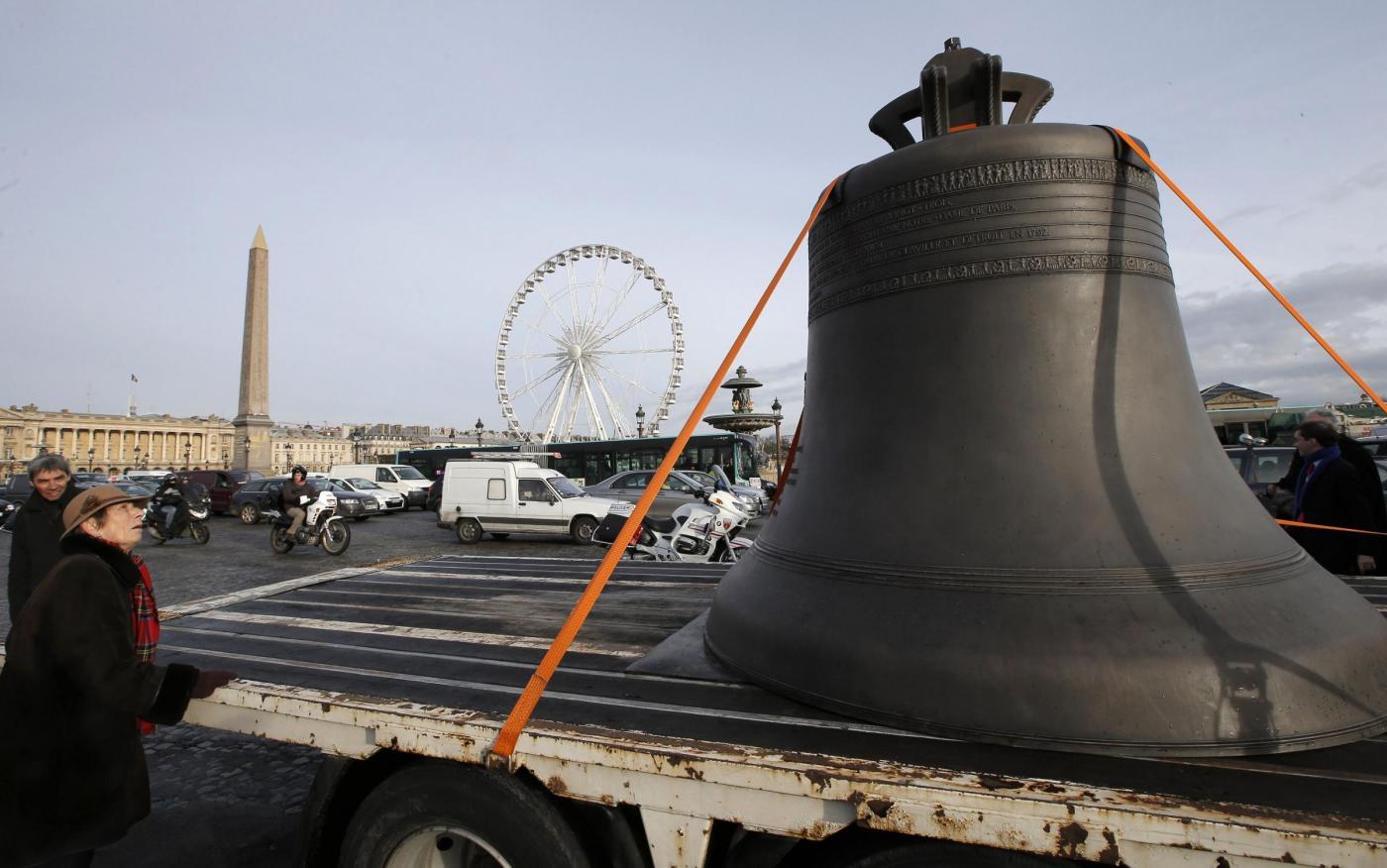 Parigi, le nuove campane di Notre Dame6