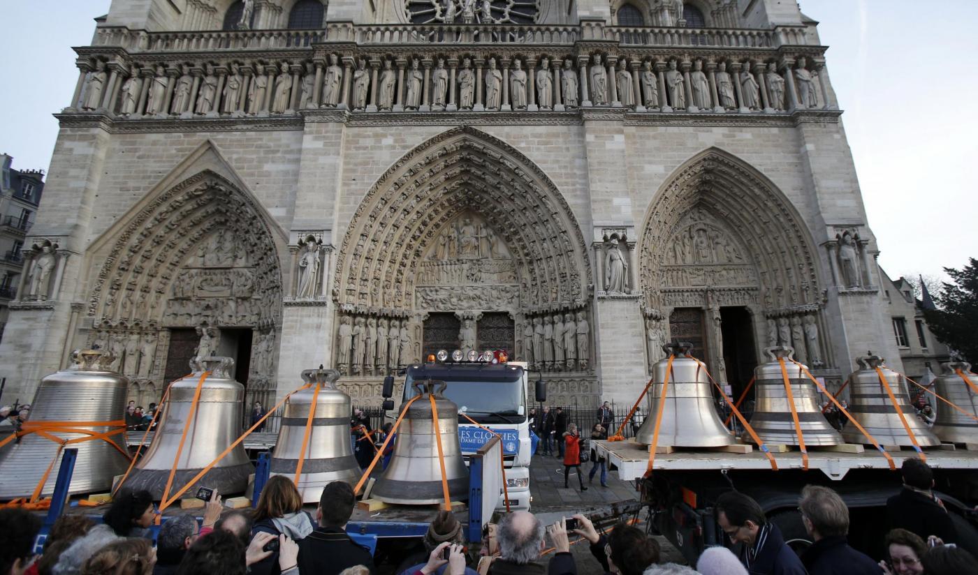 Parigi, le nuove campane di Notre Dame4