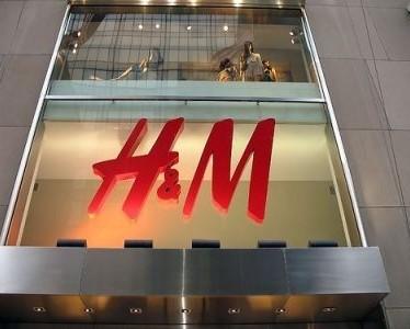 H&M vetrina