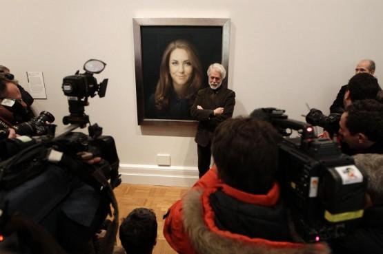 Ritratto di Kate dell'artista Paul Emsley02