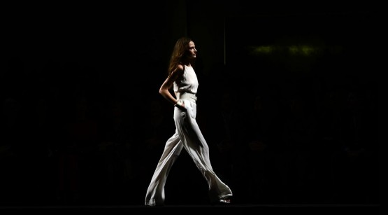 "Paris Hilton alle sfilate di ""Mango"" a Barcellona02"