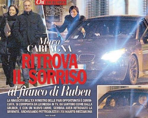 Mara Carfagna e Alessandro Ruben