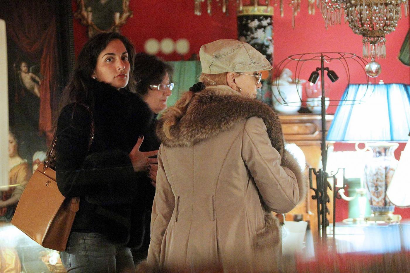 Roma, Milly Carlucci con il marito e la figlia01
