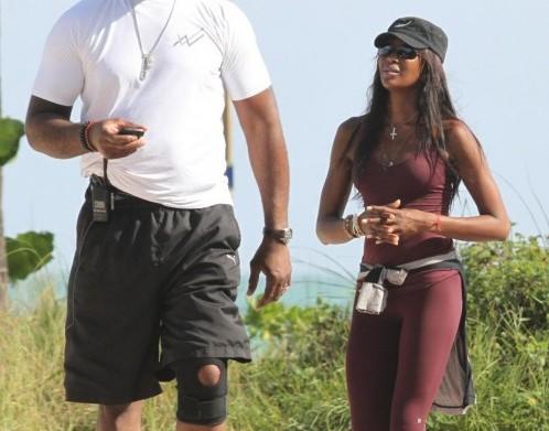 Naomi Campbell in forma smagliante a Miami02