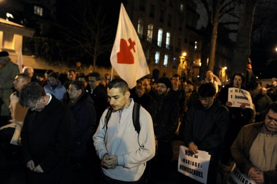Manifestazione anti nozze gay, Parigi03