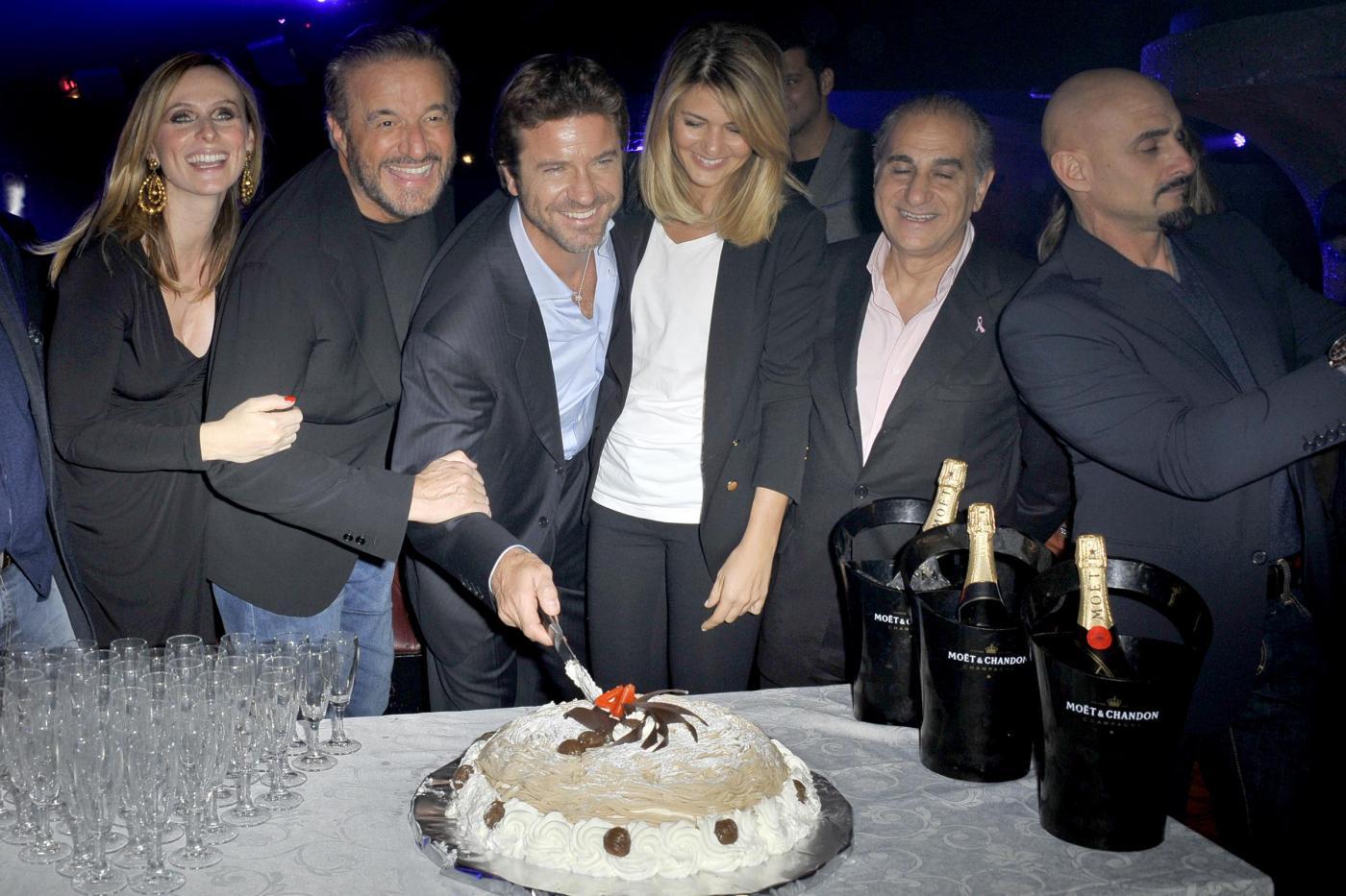 Roma, Compleanno di Paolo Conticini all'Art Cafè di Villa borghese006