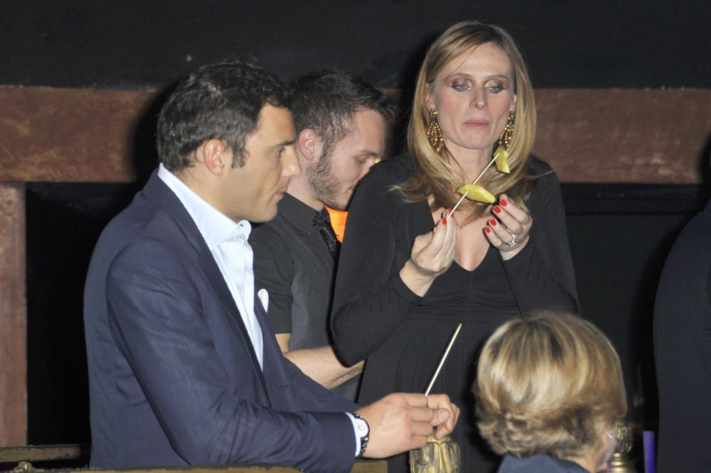 Roma, Compleanno di Paolo Conticini all'Art Cafè di Villa borghese005
