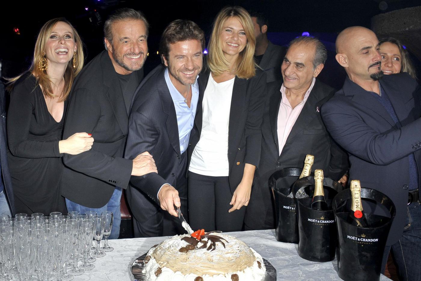 Roma, Compleanno di Paolo Conticini all'Art Cafè di Villa borghese003
