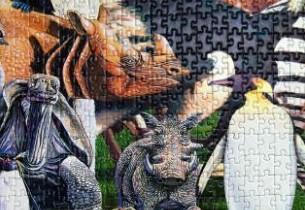 """Gb, """"tossicodipendente da puzzle"""" ne realizza uno da 17mila pezzi 05"""