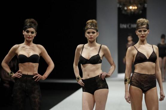 Lise Charmel - International Lingerie Show Paris 2013 05
