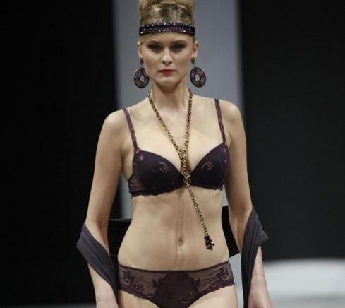 Lise Charmel - International Lingerie Show Paris 2013 01