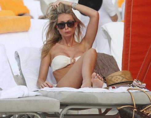 Silvia Abate sulle spiagge di Miami09
