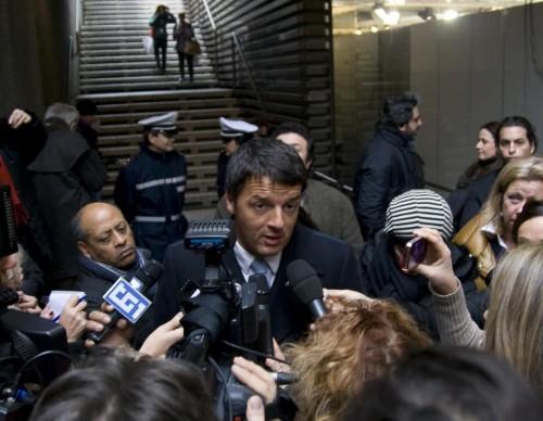 Matteo Renzi al Pitti Uomo