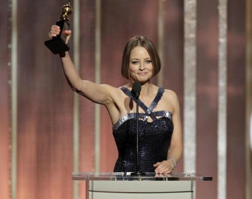 Jodie Foster ai Golden Globe 2013