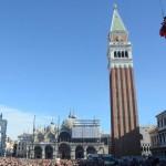 Carnevale a Venezia in piazza San Marco per il 'Volo dell'Angelo'05