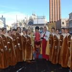 Carnevale a Venezia in piazza San Marco per il 'Volo dell'Angelo'04