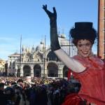 Carnevale a Venezia in piazza San Marco per il 'Volo dell'Angelo'02