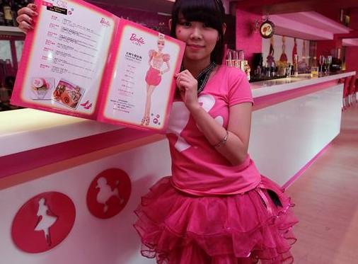 Barbie, ristorante a Taiwan