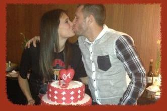 Cassano e Carolina: torta speciale per i 5 anni di unione01