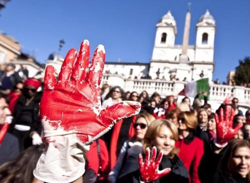 One Billion Rising - Flash mob contro la violenza sulle donne09