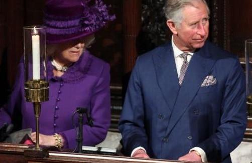 Carlo e Camilla all'intronizzazione dell'arcivescovo di Canterbury Justin Welby01
