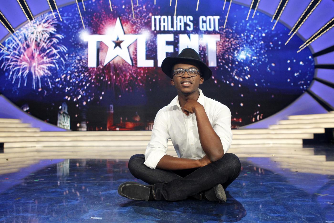 Finale di Italia's got Talent vinta da Daniel Adomako06
