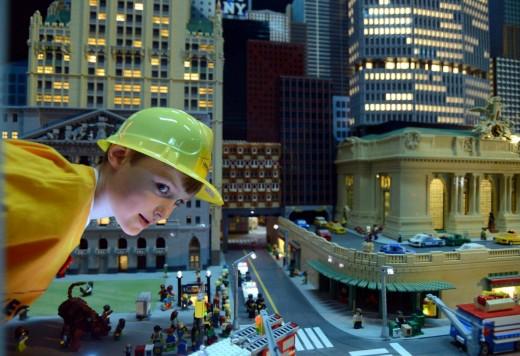 New York riprodotta con un milione di Lego 01