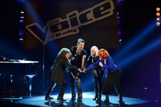 """The Voice Of Italy"""", prima puntata: prendono forma i team 9"""