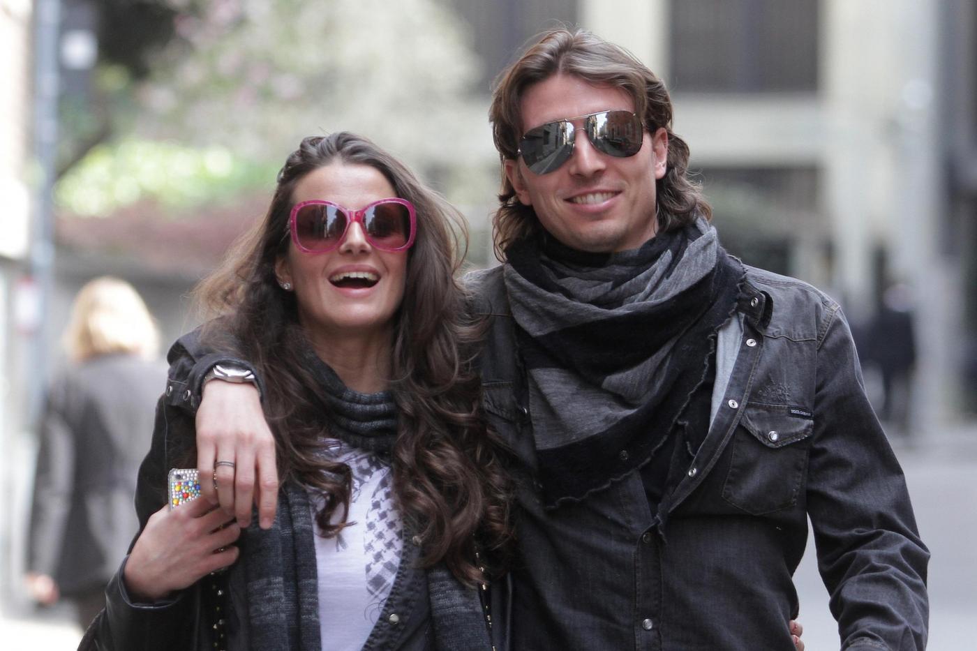 Cristina De Pin incinta di Riccardo Montolivo