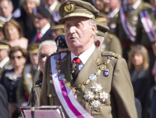 Juan Carlos famiglia reale