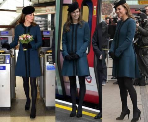 Kate Middleton-Sofia di Svezia: look premaman a confronto FOTO