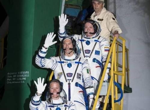 Il lancio della Soyuz con Luca Parmitano a bordo05