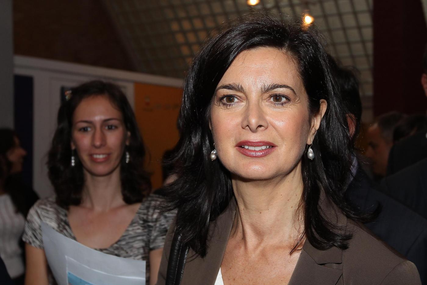 Laura Boldrini alla Città della Scienza di Napoli01