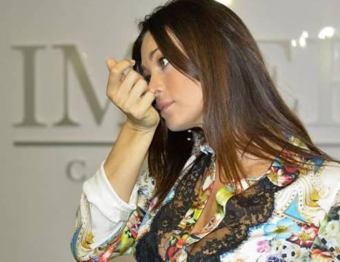 Manuela Arcuri alla Fiera di Roma 03