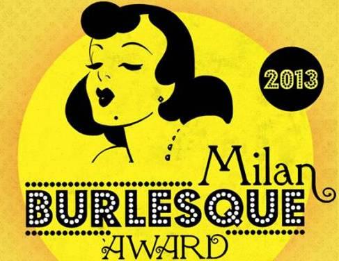 Milan Burlesque Award locandina