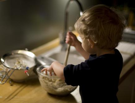 bambino cucina