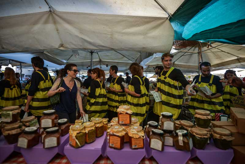 Greenpeace, sciami di api umani per dire basta ai pesticidi03