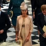Kate Middleton con il pancione alla festa della nonna Elisabetta 02