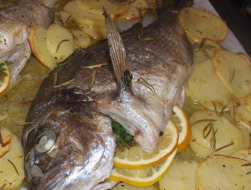 Ricette Di Pesce Orata Al Forno Con Patate Ladyblitz
