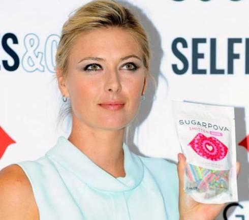 Maria Sharapova al lancio delle sue nuove caramelle 'Sugarpova04