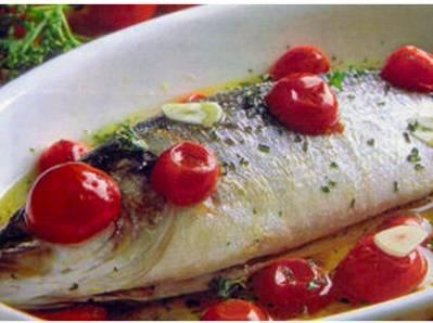 Ricette di pesce: spigola all'acqua pazza