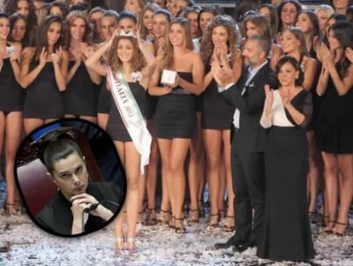 65fe99297da02 Laura Boldrini e Miss Italia  le reginette rispondono così