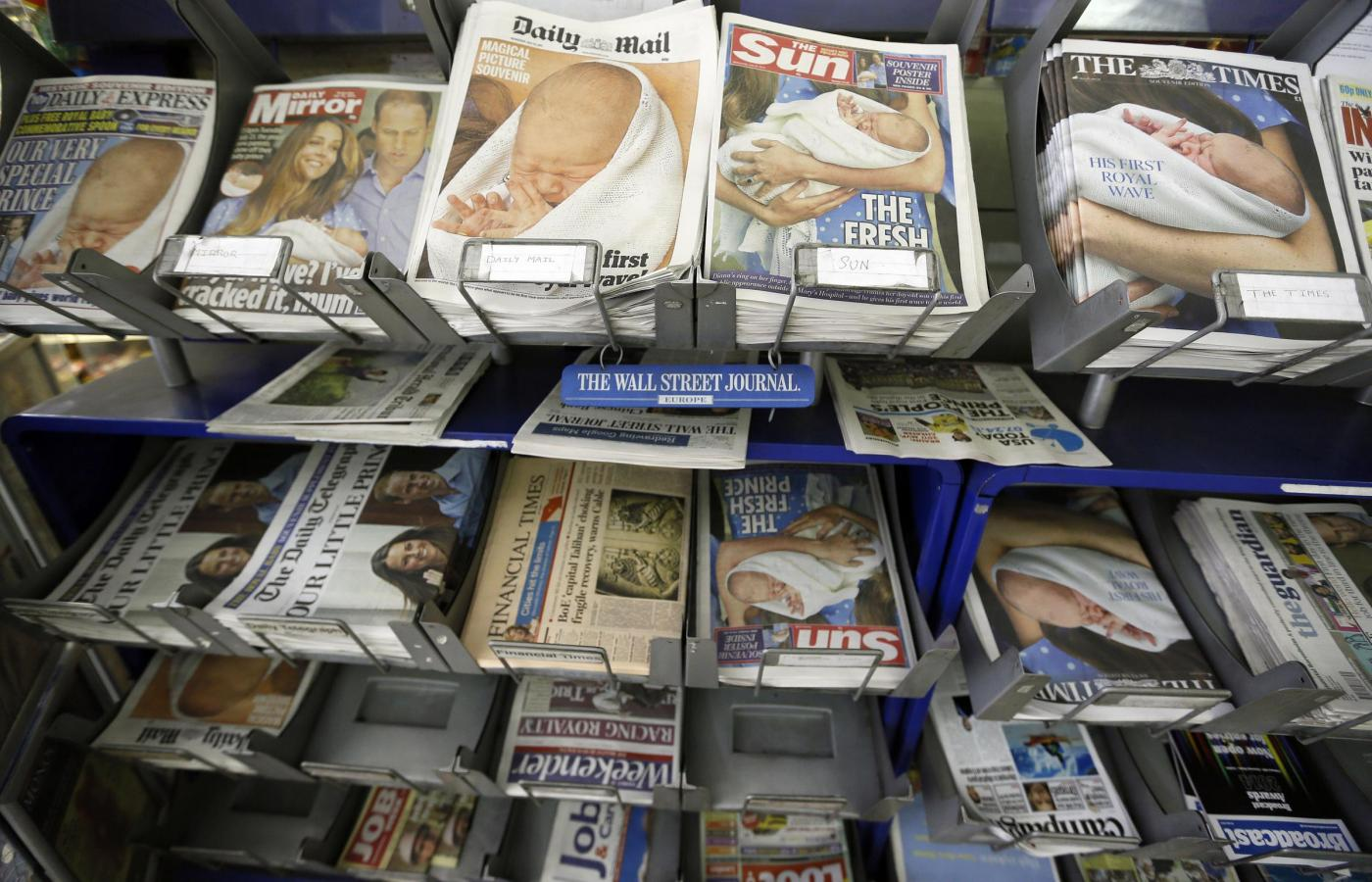 Kate Middleton: la nascita del royal baby su tutti i giornali inglesi01