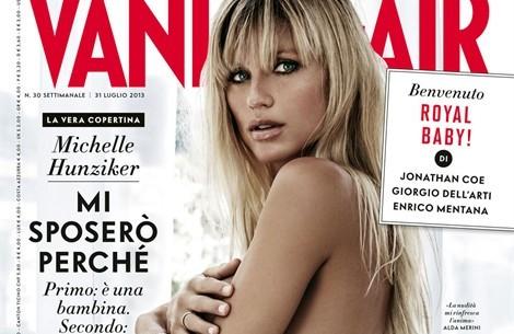 Michelle Hunziker, Demi Moore, Monica Bellucci...: pancioni in copertina
