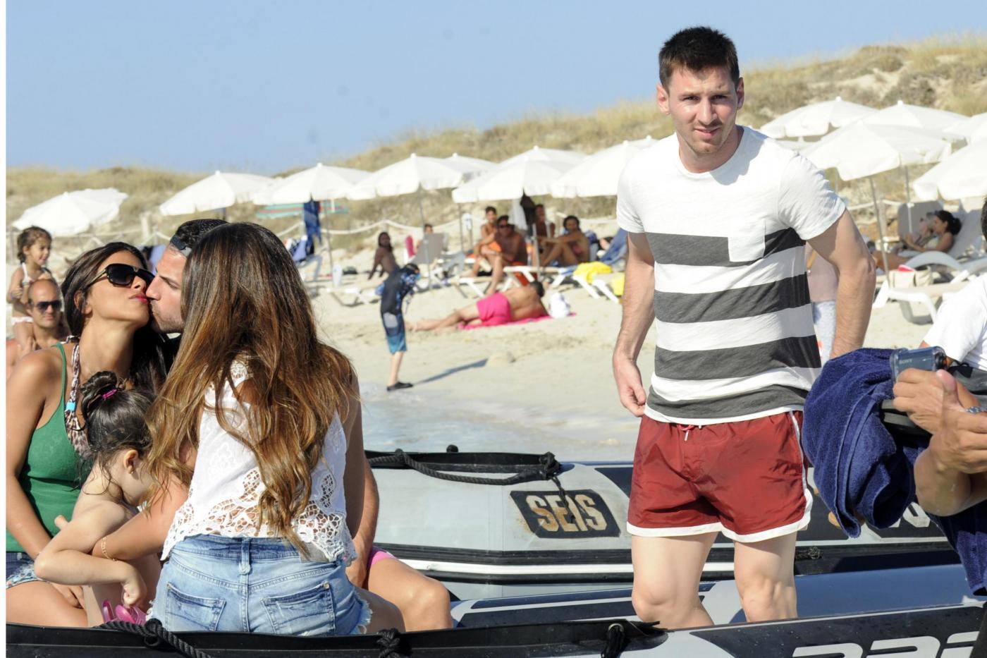 Messi e Fabregas in vacanza a Formentera 11