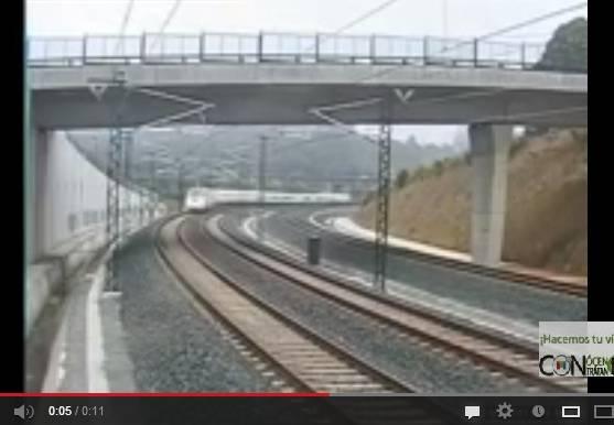 Santiago di Compostela, treno deragliato: ecco il video schock