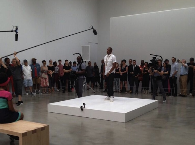 Jay-Z e Marina Abramovic, performance di sei ore a Manhattan